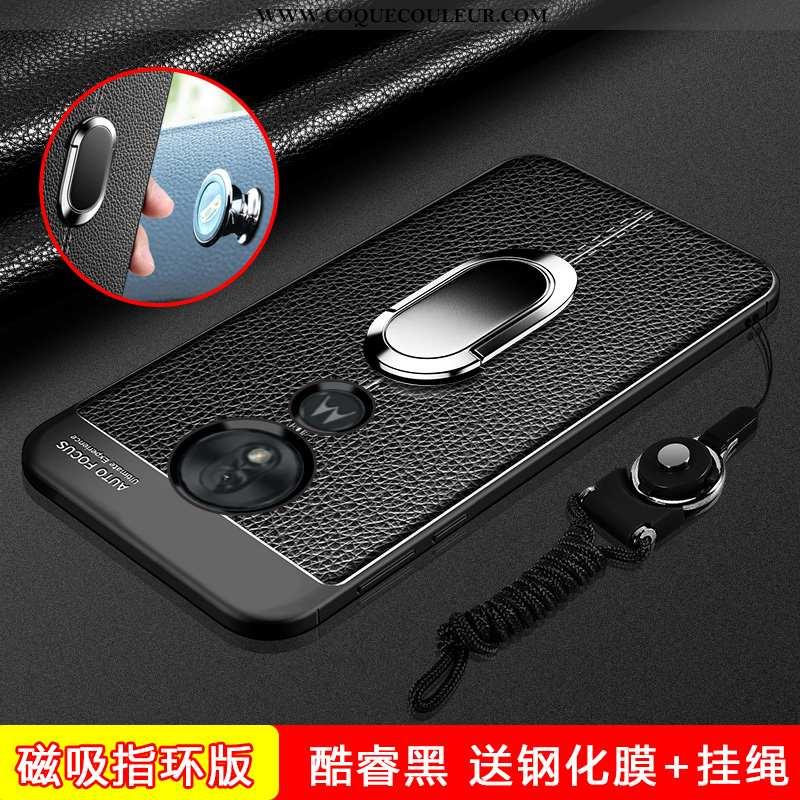 Étui Moto G7 Power Silicone Téléphone Portable Ornements Suspendus, Coque Moto G7 Power Protection F