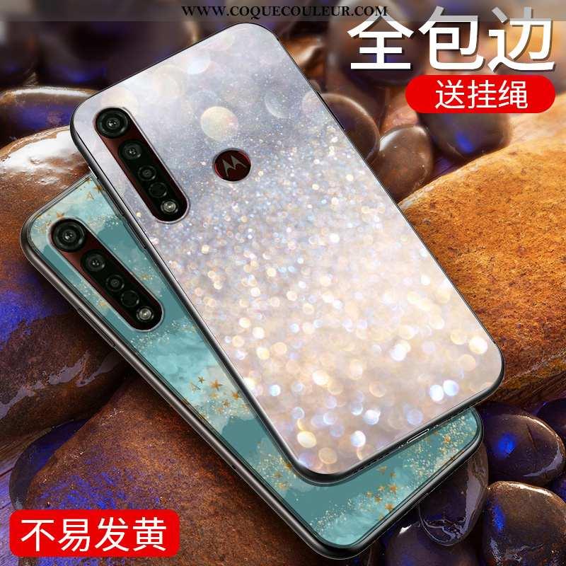 Coque Moto G8 Plus Personnalité Étui Tout Compris, Housse Moto G8 Plus Tendance Téléphone Portable A