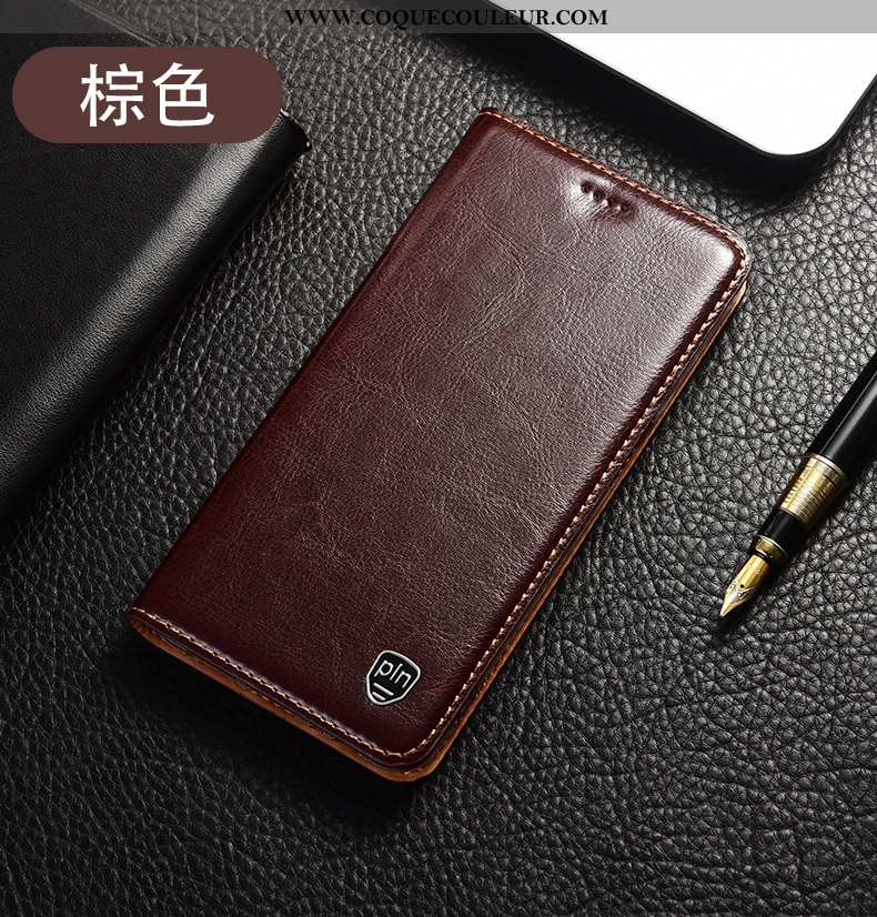 Coque Moto G8 Plus Modèle Fleurie Téléphone Portable Étui, Housse Moto G8 Plus Protection Orange