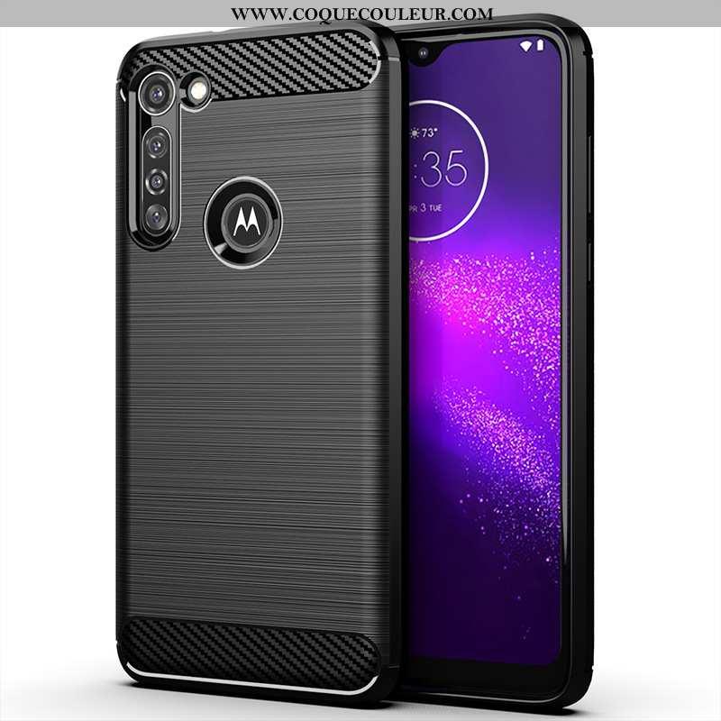 Housse Moto G8 Power Protection Noir Coque, Étui Moto G8 Power Silicone Téléphone Portable