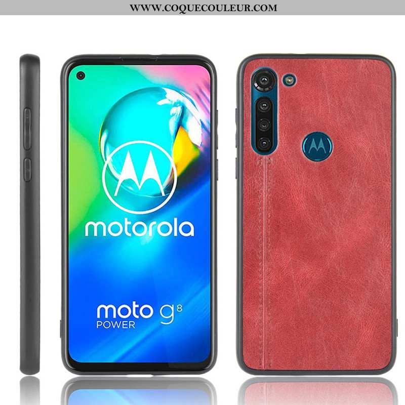 Coque Moto G8 Power Protection Téléphone Portable Difficile, Housse Moto G8 Power Modèle Fleurie Étu