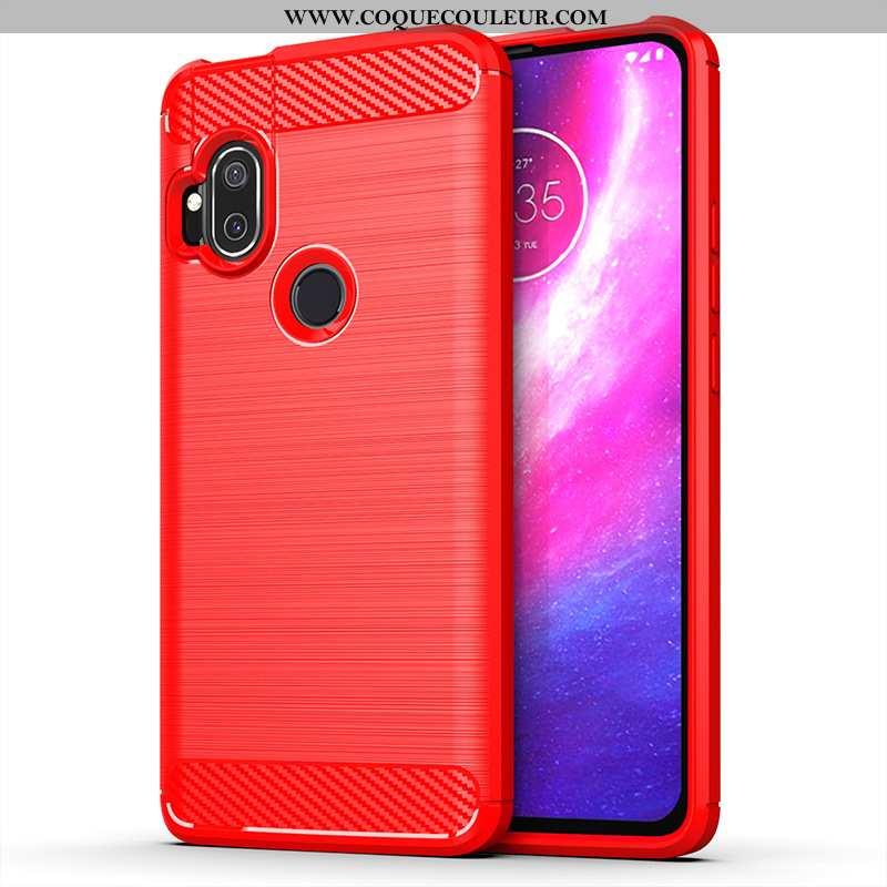 Housse Motorola One Hyper Rouge Coque Étui, Étui Motorola One Hyper Téléphone Portable