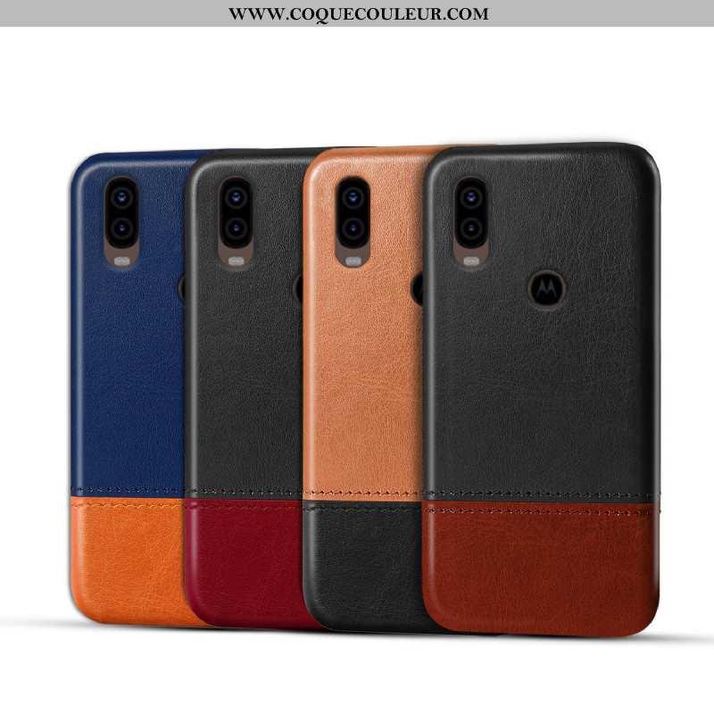 Coque Motorola One Vision Protection Personnalisé Coque, Housse Motorola One Vision Étui Téléphone P