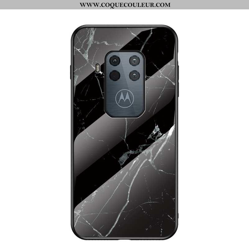 Housse Motorola One Zoom Tendance Tout Compris Noir, Étui Motorola One Zoom Protection Incassable No