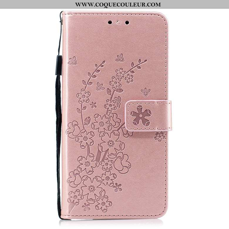 Coque Nokia 2.1 Cuir Incassable Rose, Housse Nokia 2.1 Protection Clamshell Rose