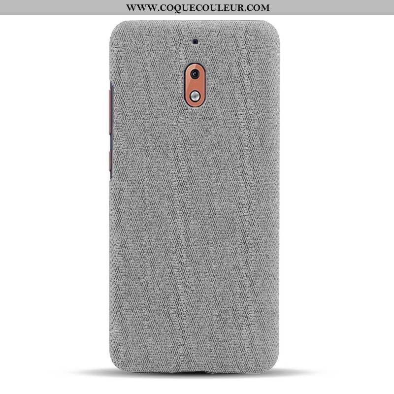 Housse Nokia 2.1 Protection Étui Coque, Nokia 2.1 Légère Incassable Gris