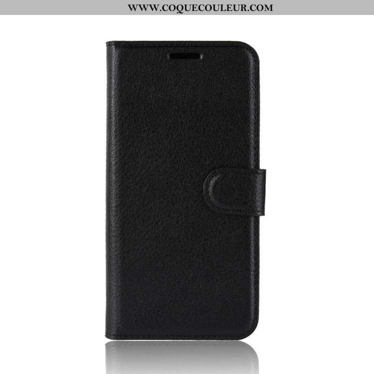Housse Nokia 2.2 Portefeuille Coque Incassable, Étui Nokia 2.2 Tendance Noir