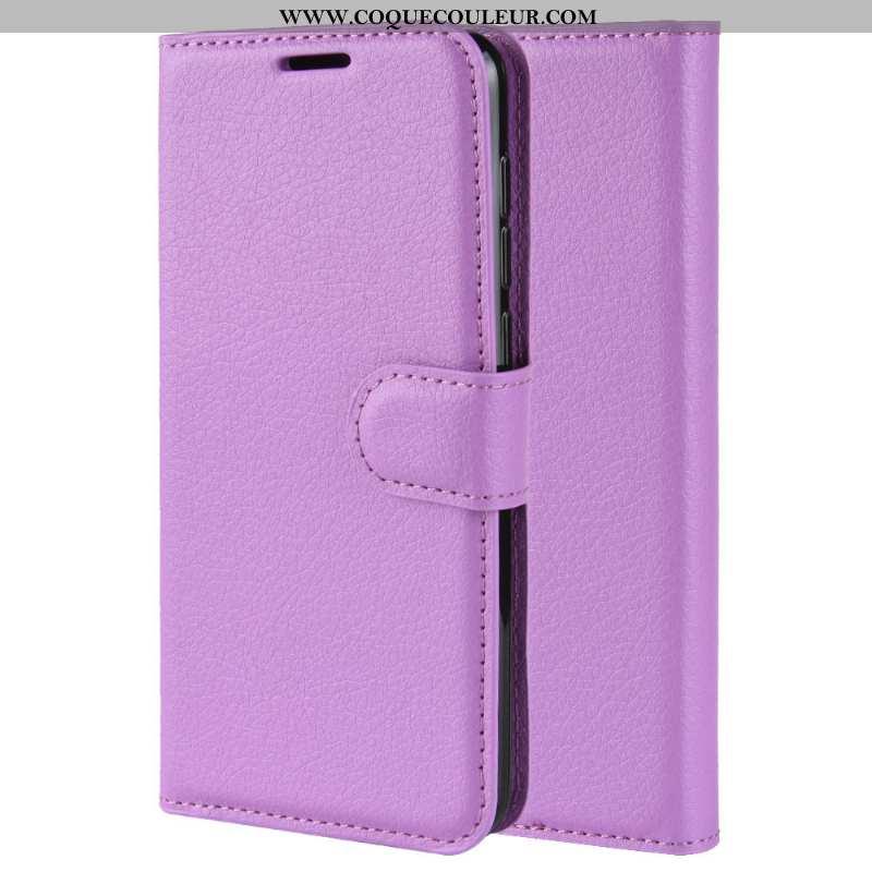 Housse Nokia 2.2 Cuir Coque Téléphone Portable, Étui Nokia 2.2 Protection Incassable Violet