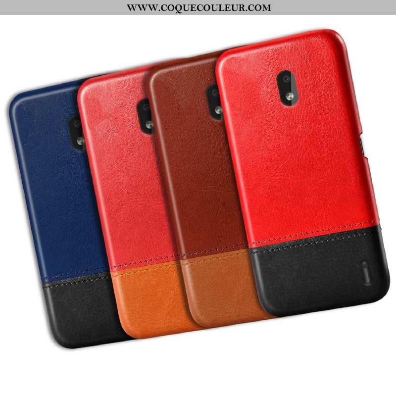 Étui Nokia 2.2 Personnalité Coque Nouveau, Nokia 2.2 Vintage Téléphone Portable Rouge