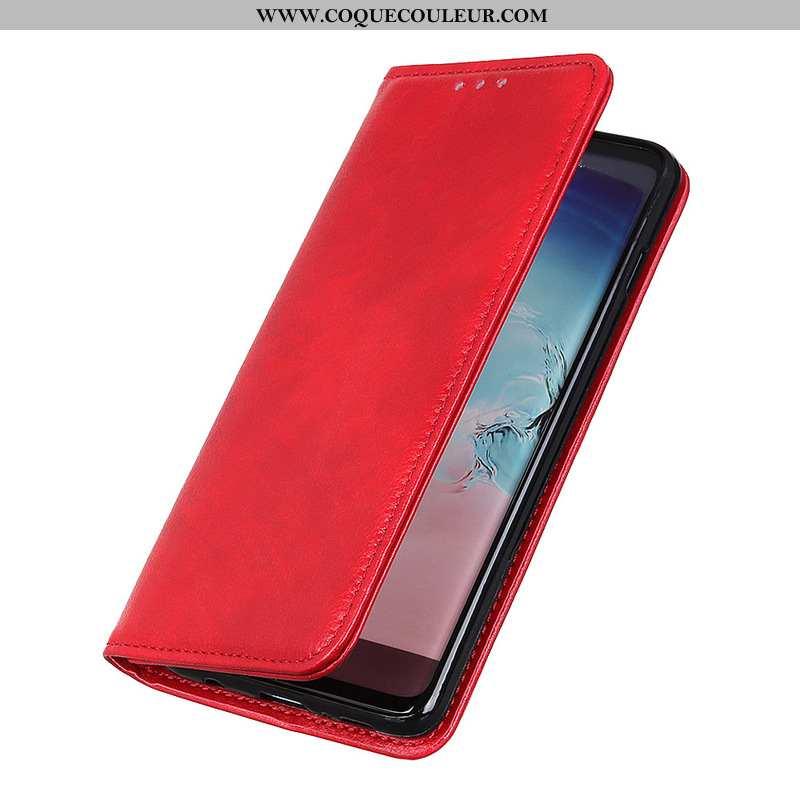 Étui Nokia 2.3 Modèle Fleurie Litchi Étui, Coque Nokia 2.3 Rouge