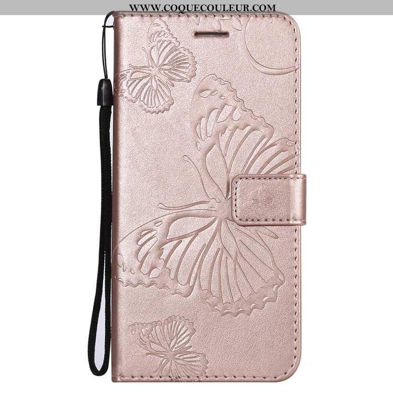 Coque Nokia 3.1 Protection Housse, Housse Nokia 3.1 Cuir Téléphone Portable Rose