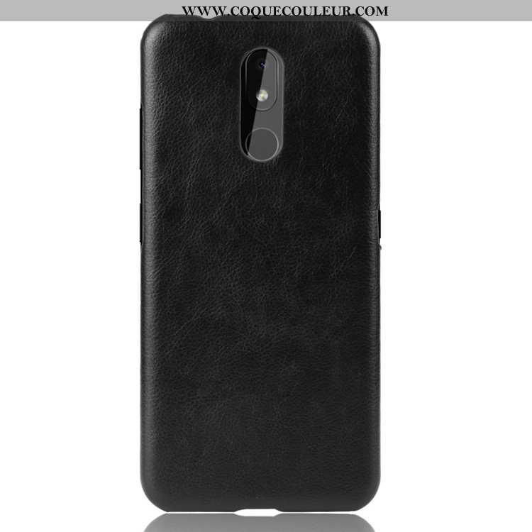 Housse Nokia 3.2 Protection Étui Difficile, Nokia 3.2 Tendance Téléphone Portable Noir