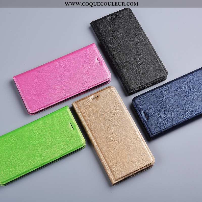 Coque Nokia 5.1 Protection Étui Housse, Housse Nokia 5.1 Téléphone Portable Soie Doré