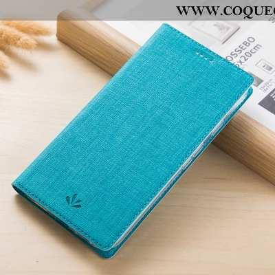 Étui Nokia 5.1 Cuir Coque Téléphone Portable, Nokia 5.1 Protection Bleu