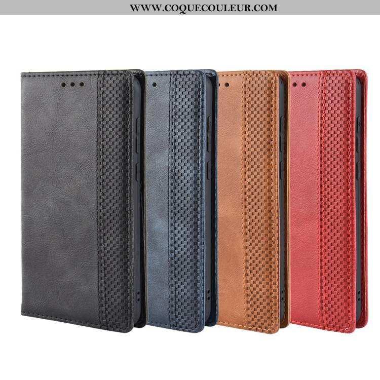 Housse Nokia 5.1 Protection Coque Noir, Étui Nokia 5.1 Cuir Téléphone Portable Noir