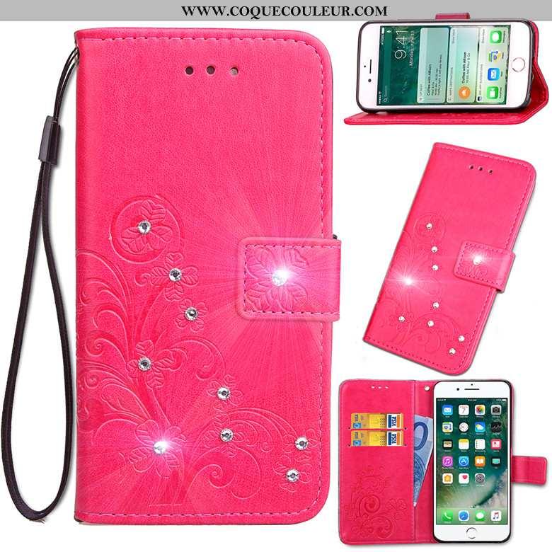 Housse Nokia 6.2 Protection Clamshell Rouge, Étui Nokia 6.2 Cuir Coque Rouge