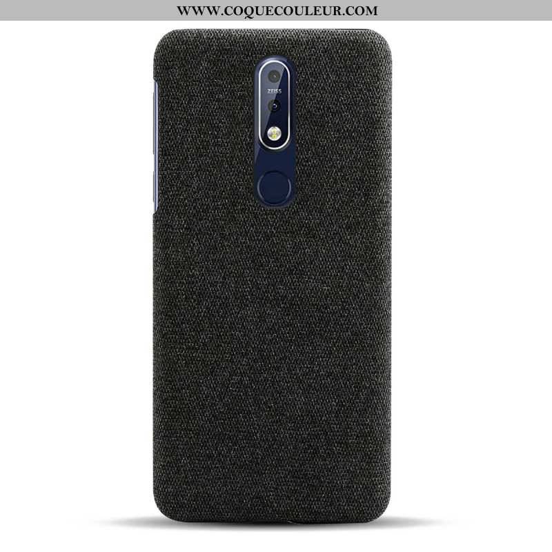Coque Nokia 7.1 Protection Simple, Housse Nokia 7.1 Légère Incassable Noir