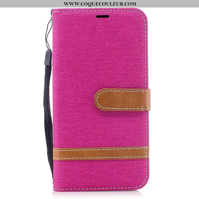 Étui Nokia 7.2 Créatif Cuir Tout Compris, Coque Nokia 7.2 Portefeuille Mode Rose