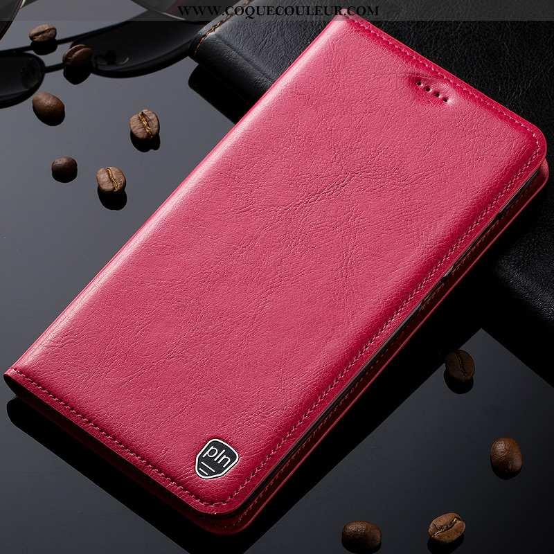 Étui Nokia 8 Sirocco Cuir Véritable Haute Téléphone Portable, Coque Nokia 8 Sirocco Cuir Rose