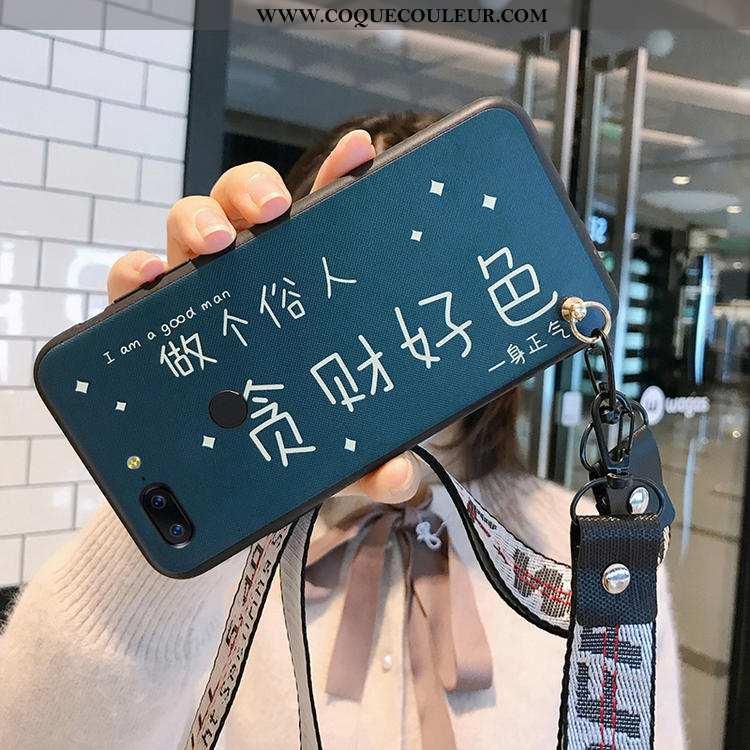 Étui Oneplus 5t Tendance Amoureux Téléphone Portable, Coque Oneplus 5t Fluide Doux Personnalité Bleu