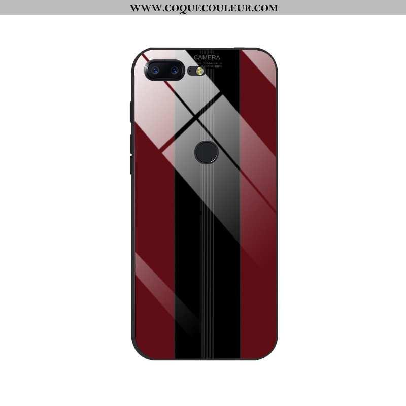 Housse Oneplus 5t Silicone Ultra Tendance, Étui Oneplus 5t Protection Créatif Rouge