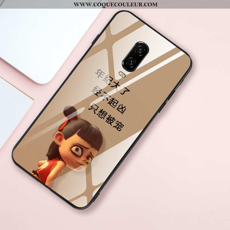 Housse Oneplus 6t Silicone Téléphone Portable Net Rouge, Étui Oneplus 6t Protection Fluide Doux Khak