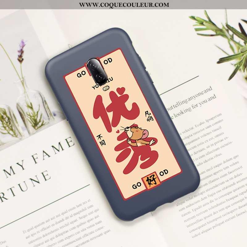 Étui Oneplus 6t Ultra Téléphone Portable Nouveau, Coque Oneplus 6t Légère Fluide Doux Rouge