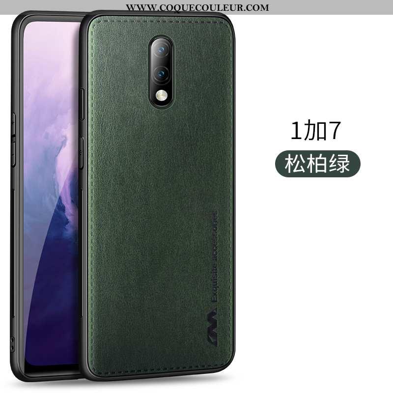 Étui Oneplus 7 Ultra Magnétisme Luxe, Coque Oneplus 7 Légère Qualité Verte