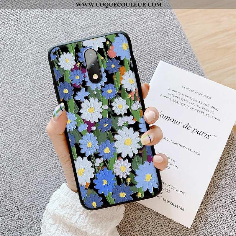Étui Oneplus 7 Ultra Téléphone Portable Silicone, Coque Oneplus 7 Légère Bleu
