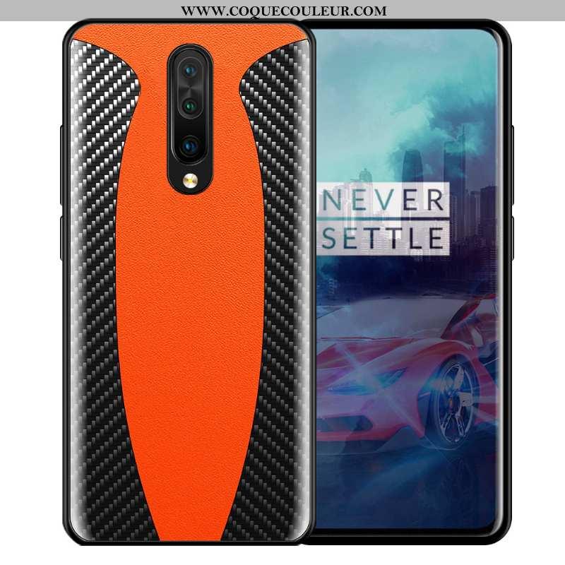 Étui Oneplus 7 Pro Créatif Tout Compris Protection, Coque Oneplus 7 Pro Tendance Orange