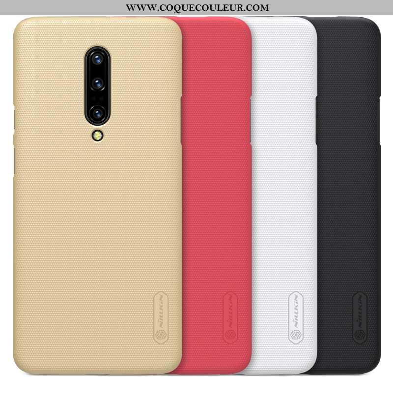 Étui Oneplus 7 Pro Tendance Téléphone Portable Difficile, Coque Oneplus 7 Pro Légère Doré