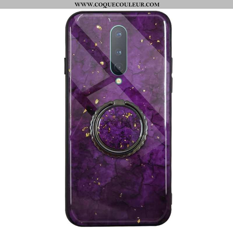 Coque Oneplus 7 Pro Luxe Téléphone Portable Rouge, Housse Oneplus 7 Pro Fluide Doux Protection Viole