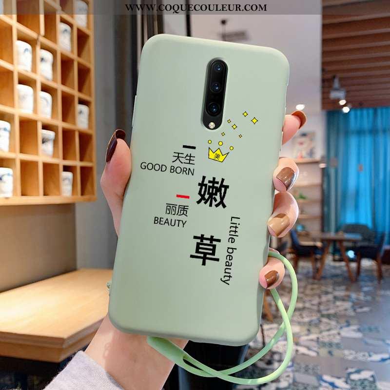 Étui Oneplus 7 Pro Ultra Coque Vert, Oneplus 7 Pro Légère Amoureux Verte