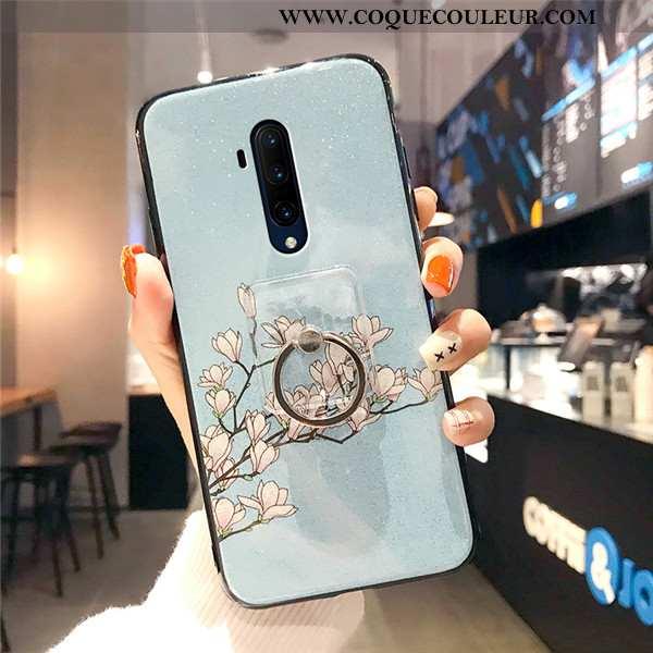 Housse Oneplus 7t Pro Créatif Téléphone Portable Boucle, Étui Oneplus 7t Pro Fluide Doux Incassable