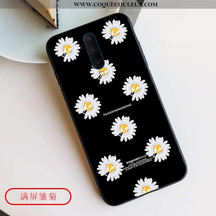 Housse Oneplus 7t Pro Silicone Fluide Doux Coque, Étui Oneplus 7t Pro Protection Téléphone Portable