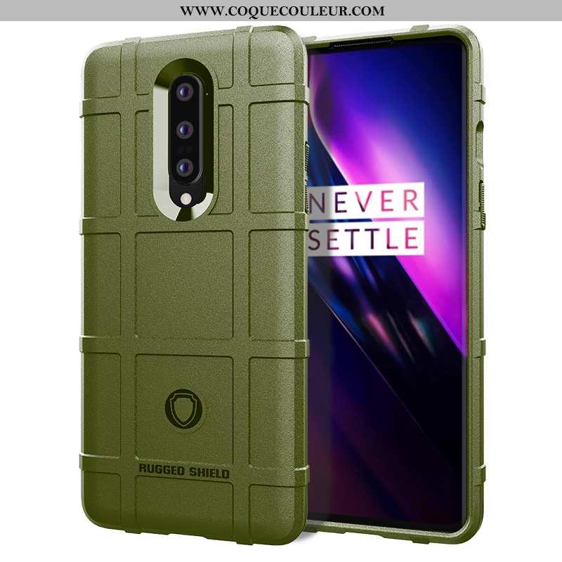 Étui Oneplus 8 Créatif Téléphone Portable Fluide Doux, Coque Oneplus 8 Tendance Net Rouge Armée Vert