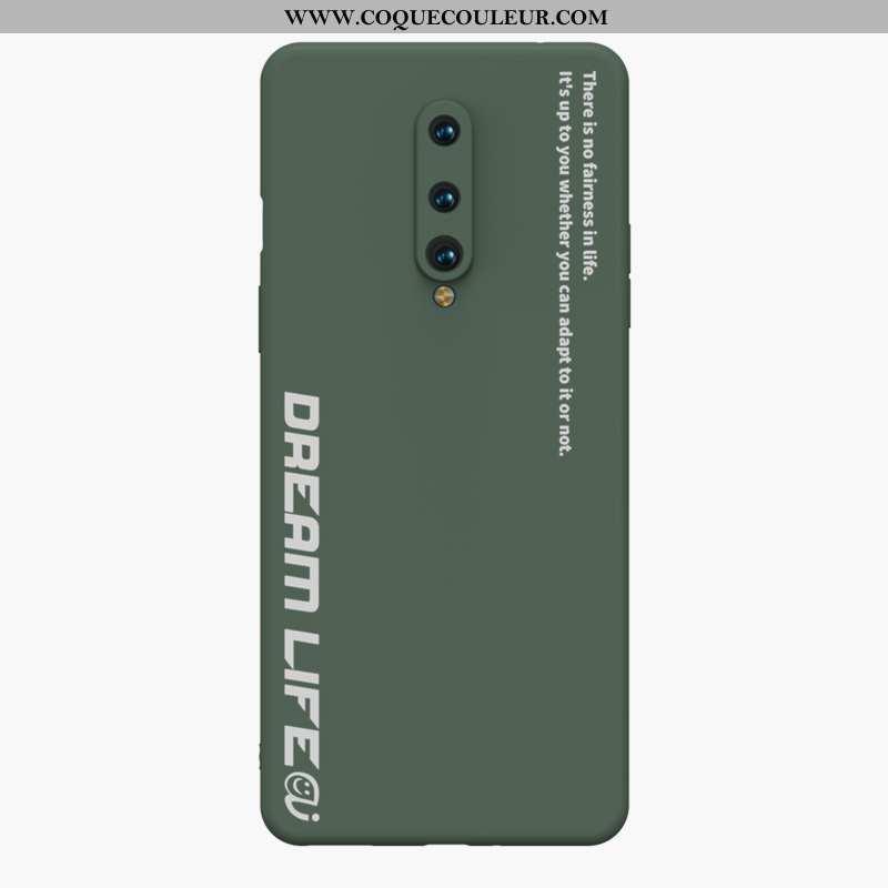 Étui Oneplus 8 Protection Simple Tout Compris, Coque Oneplus 8 Personnalité Ultra Armée Verte