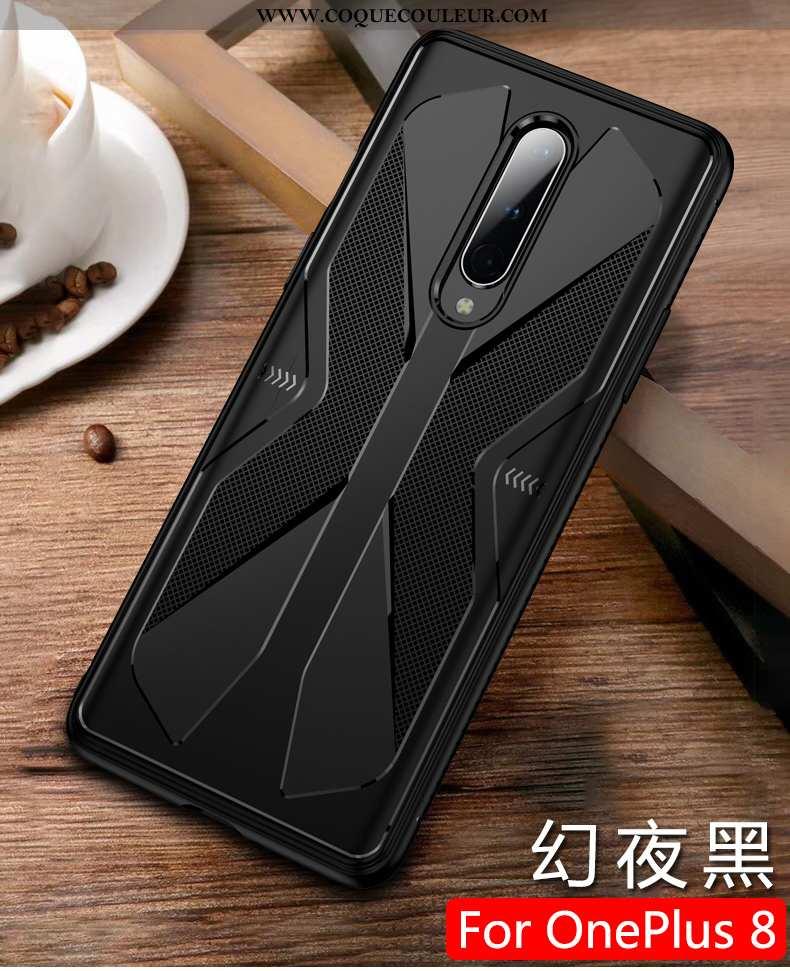 Étui Oneplus 8 Créatif Légère Silicone, Coque Oneplus 8 Ultra Protection Noir