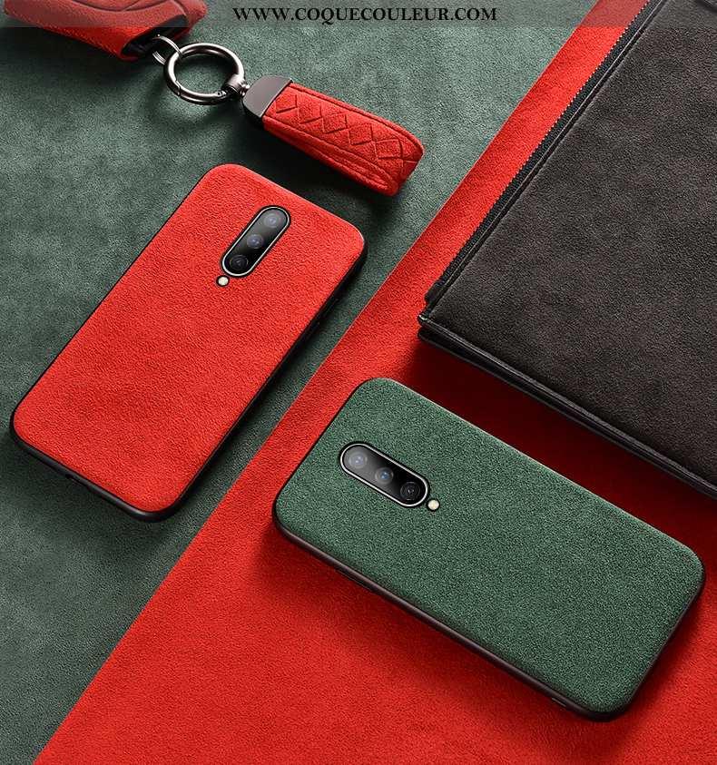 Housse Oneplus 8 Personnalité Tout Compris Rouge, Étui Oneplus 8 Tendance Téléphone Portable Rouge