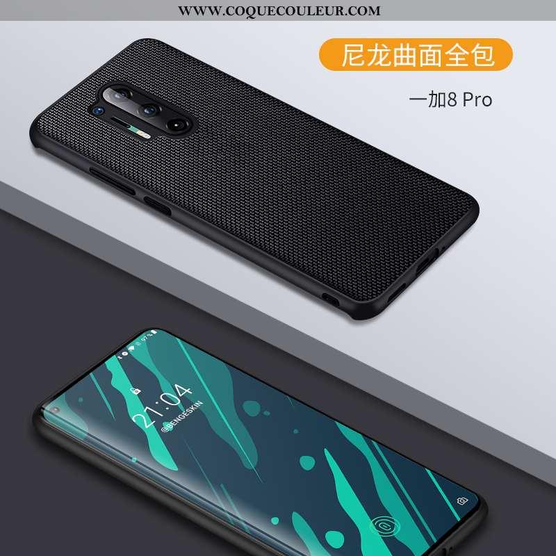 Coque Oneplus 8 Pro Ultra Tout Compris Style Chinois, Housse Oneplus 8 Pro Légère Créatif Noir