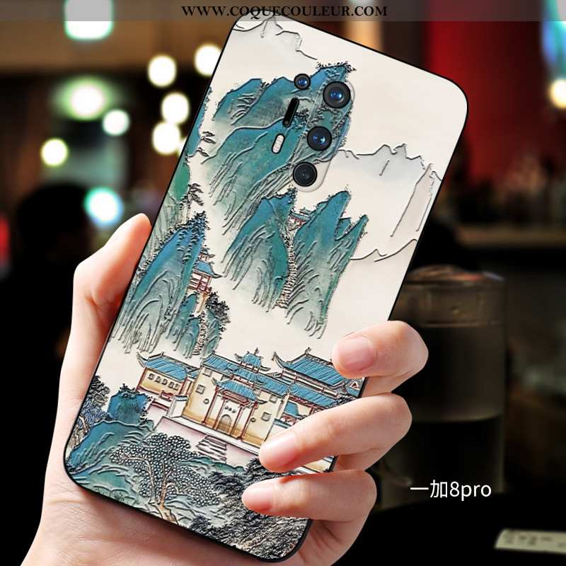 Étui Oneplus 8 Pro Personnalité Téléphone Portable Tendance, Coque Oneplus 8 Pro Créatif Protection
