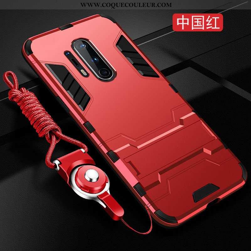 Housse Oneplus 8 Pro Personnalité Coque Téléphone Portable, Étui Oneplus 8 Pro Créatif Silicone Roug
