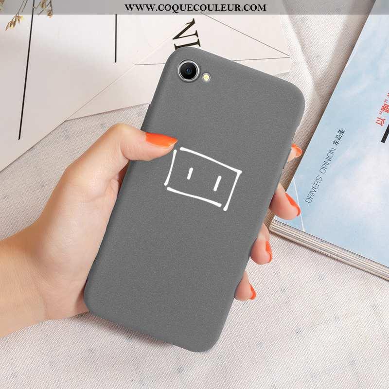 Coque Oppo A3 Délavé En Daim Téléphone Portable Incassable, Housse Oppo A3 Tendance Gris