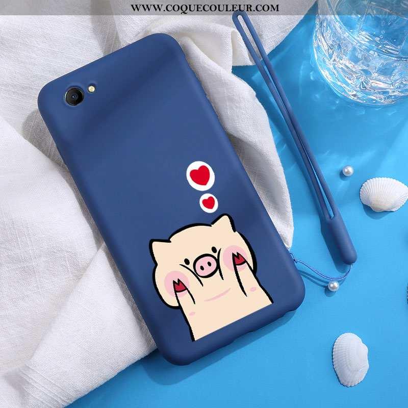 Étui Oppo A3 Mode Personnalité Incassable, Coque Oppo A3 Protection Bleu