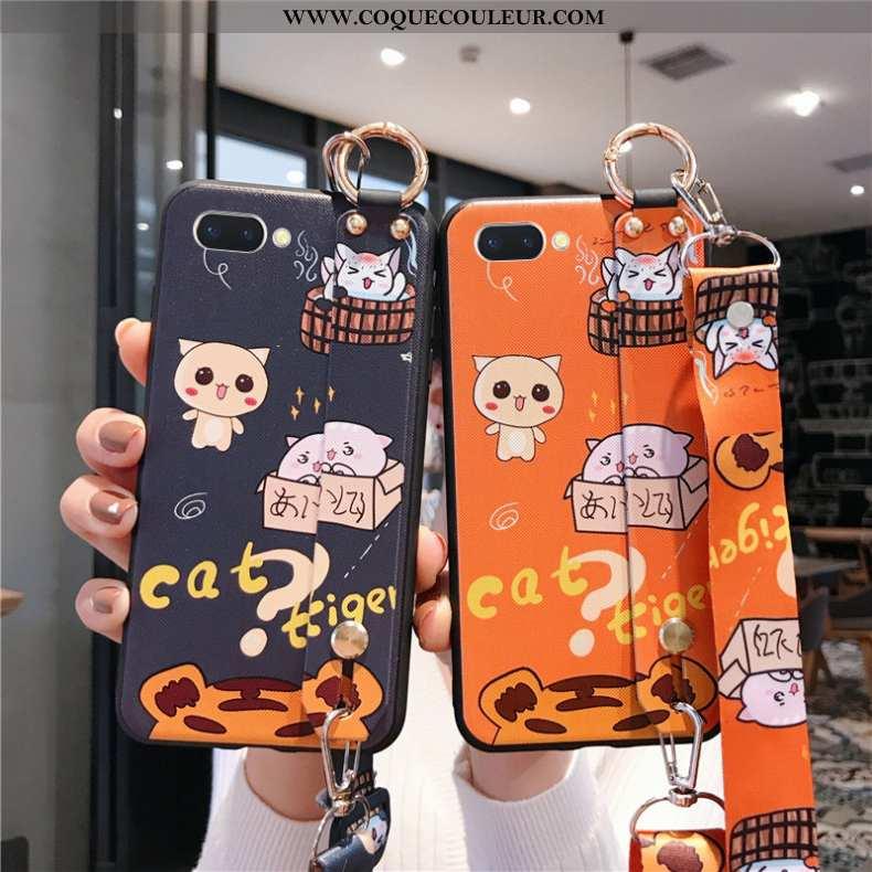 Coque Oppo A5 Tendance Téléphone Portable Incassable, Housse Oppo A5 Fluide Doux Tout Compris Orange