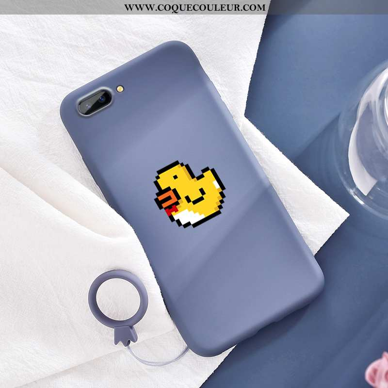 Coque Oppo A5 Ultra Rose Étui, Housse Oppo A5 Légère Téléphone Portable Bleu