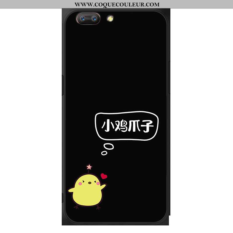 Étui Oppo A5 Protection Noir, Coque Oppo A5 Fluide Doux Noir