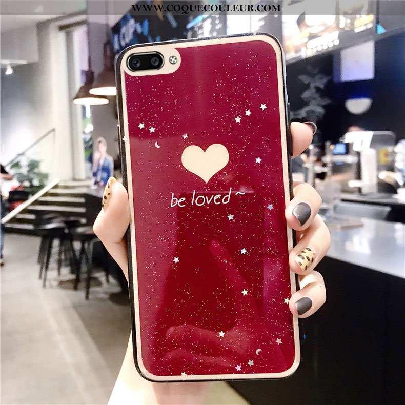 Étui Oppo Ax5 Tendance Téléphone Portable Amour, Coque Oppo Ax5 Mode Vin Rouge Bordeaux