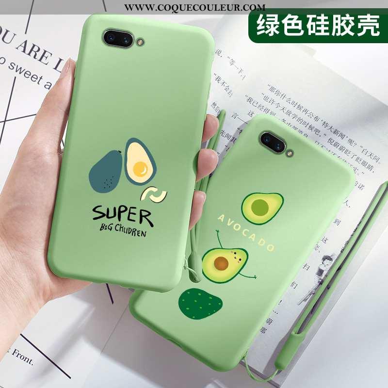Étui Oppo Ax5 Protection Vert Téléphone Portable, Coque Oppo Ax5 Charmant Vent Verte