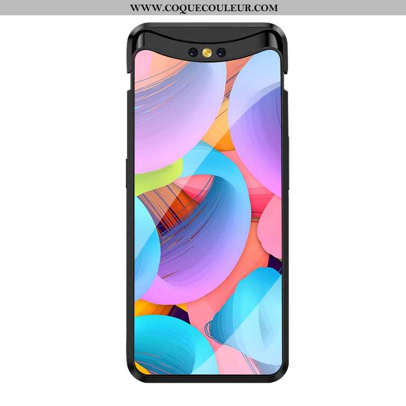 Coque Oppo Find X Verre Incassable Silicone, Housse Oppo Find X Créatif Haute Coloré
